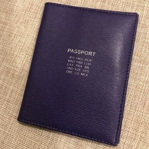 SALE!! Ralph Lauren Passport Cover